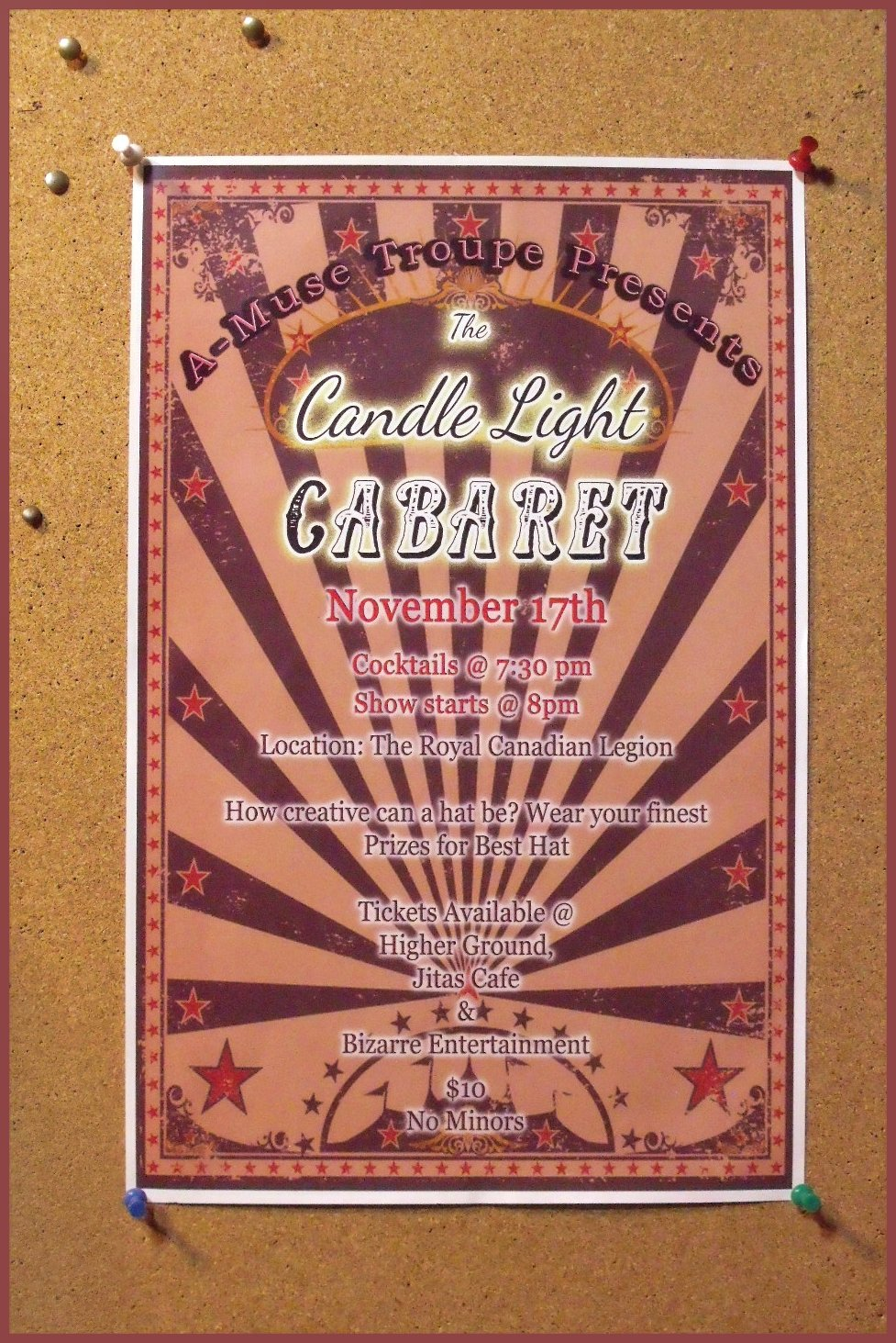 The candle light cabaret show
